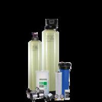 Фильтры очистки воды из скважины Система с аэрационной колонной - «Старый добрый аэратор»-4 мг/л авто