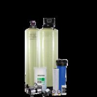 Очистка воды в коттедже  Система с аэрационной колонной - «Старый добрый аэратор»-6 мг/л авто